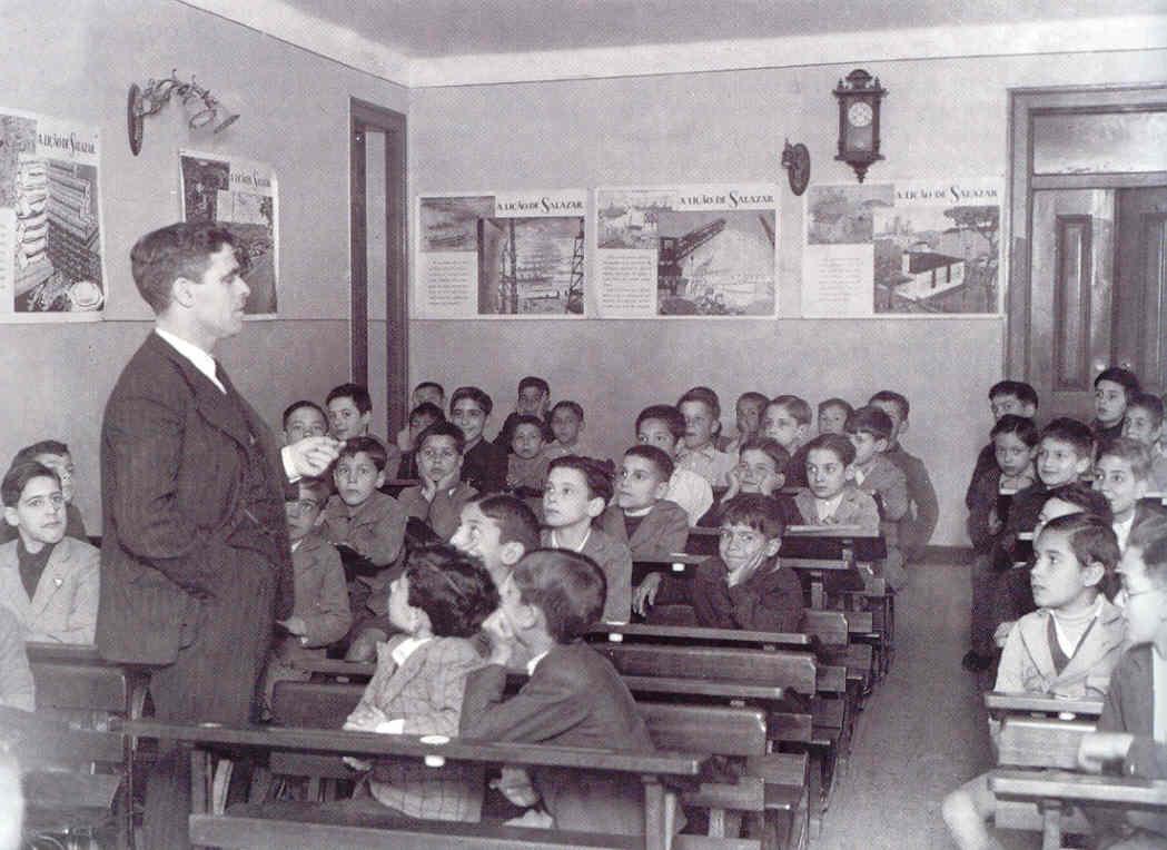 A Escola no tempo dos pais e dos avós