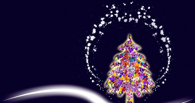 Um postal de Natal para quem está longe