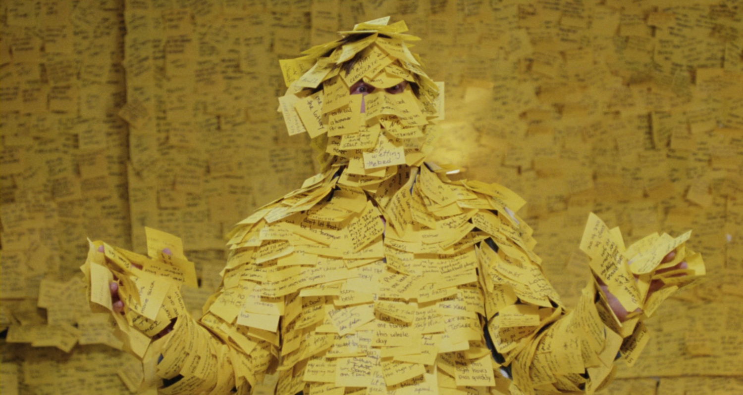 Post-its do corpo humano