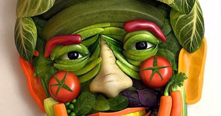 Arte com alimentos